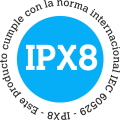 estanca & sumergible hasta 10 m. - IPX8