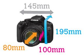 Esta funda Aquapac protege cámaras Reflex